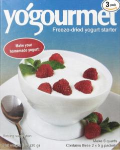 Yogourmet Freeze Dried Yogurt Starter