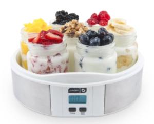 Dash 7 Jar Yogurt Maker- Stainless Steel