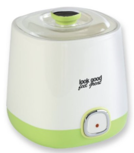 Look Good Feel Great YM-6:2393 Yogurt Maker with Storage Container