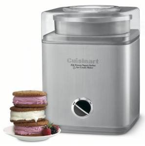 Cuisinart ICE-30BC Pure Indulgence 2-Quart Automatic Frozen Yogurt Sorbet and Ice Cream Maker