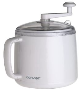 Donvier 837409W 1-Quart Ice Cream Maker