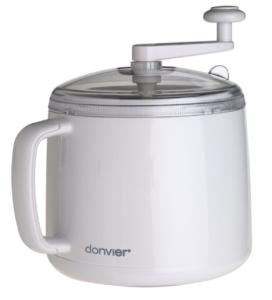 Donvier 837409W 1-Quart Ice Cream Maker